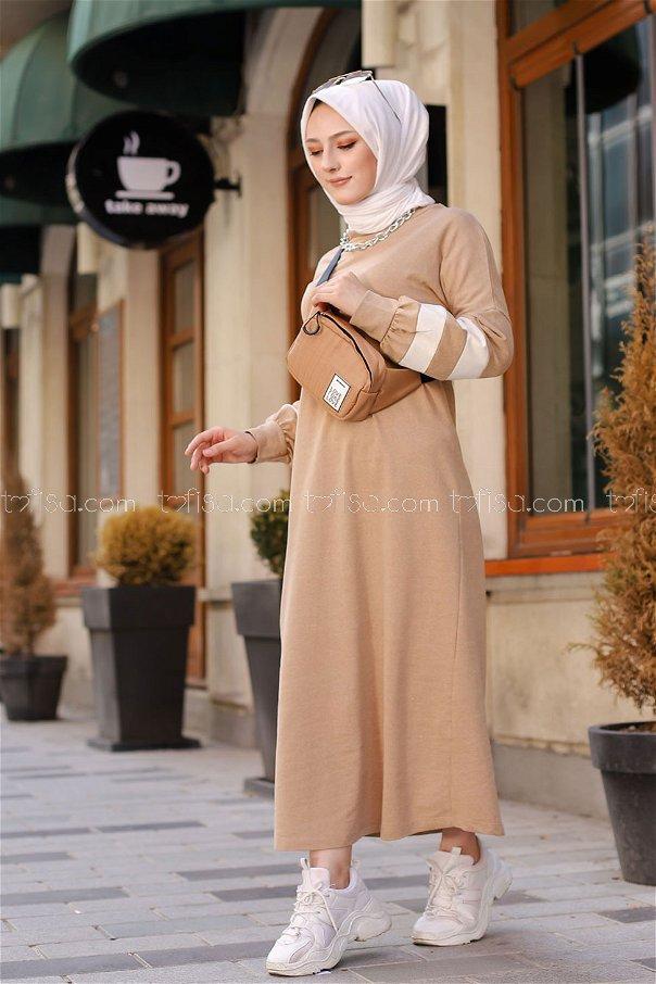 Dress Beige - 4134