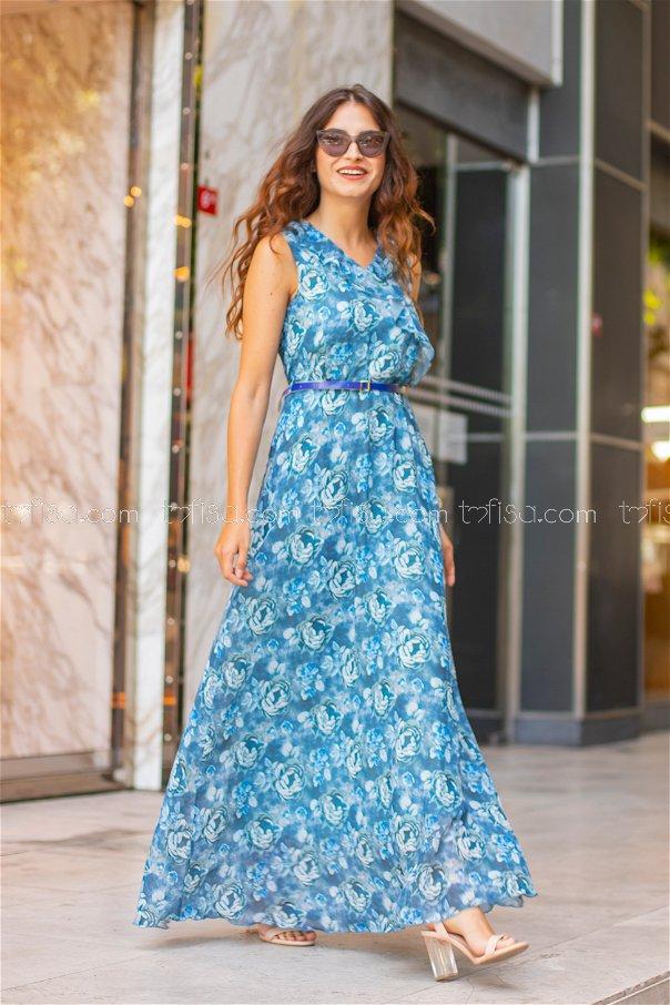 Dress Belt Blue - 8475