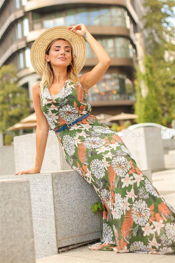 Dress Belt Khaki - 8477