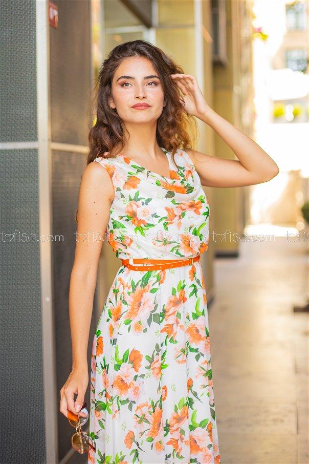 Dress Belt Orange - 8464