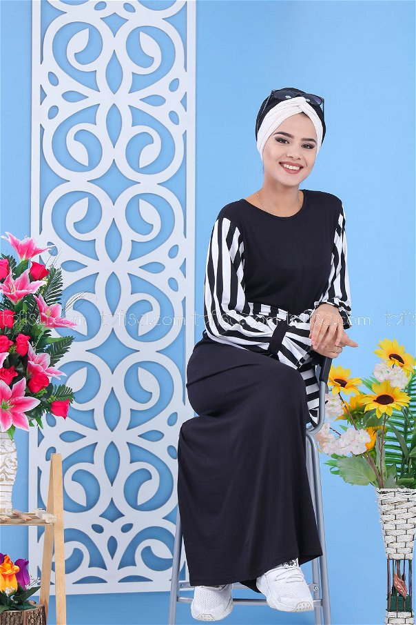 Dress - Black - 03 5140