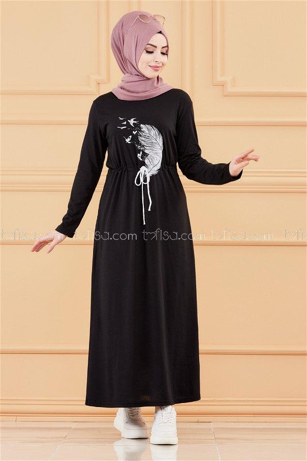Dress BLACK - 3536