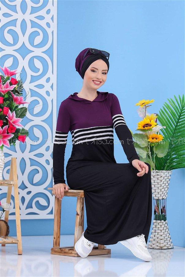 Dress Black Damson - 03 5147