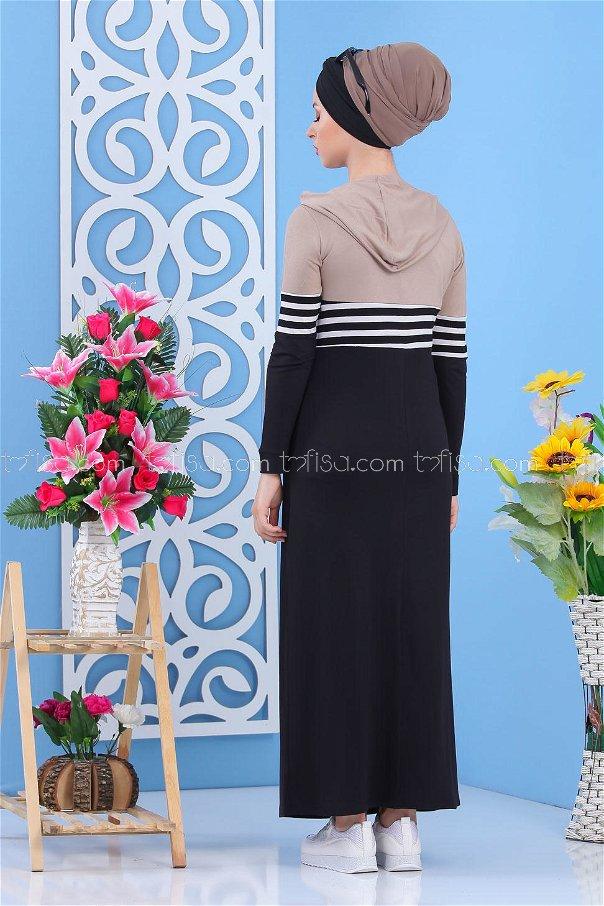 Dress Black Mink - 03 5147