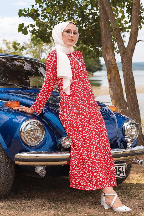 Dress Claret Red - 2805