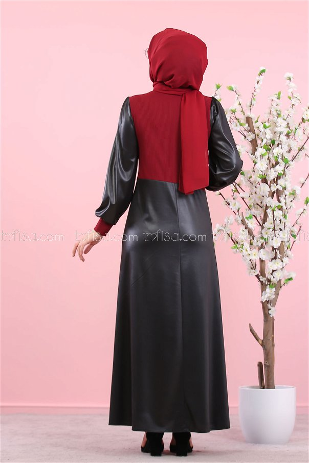 Dress Claret Red - 3060