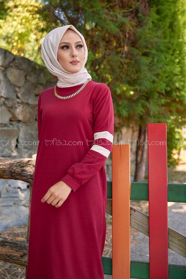 Dress Claret Red - 3080