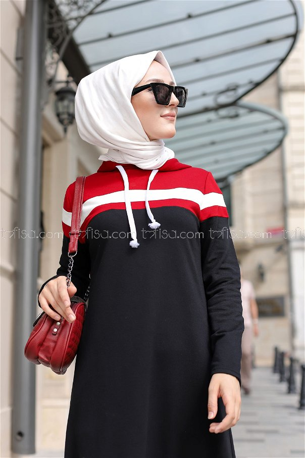 Dress Claret Red - 3090