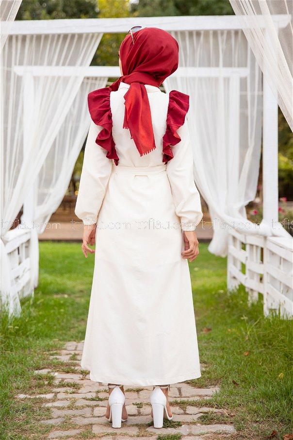 Dress Claret Red - 3125