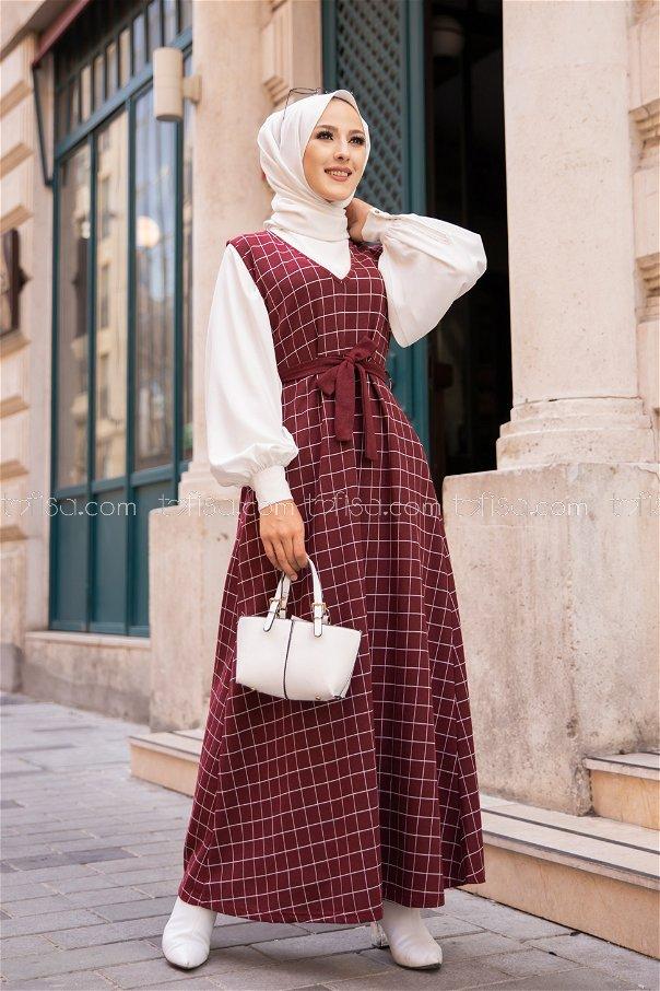 Dress Claret Red - 3230