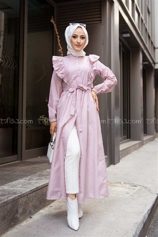 Dress Claret Red - 3233