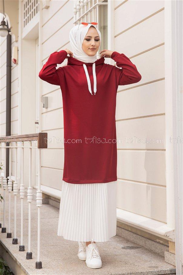 Dress Claret Red - 3262