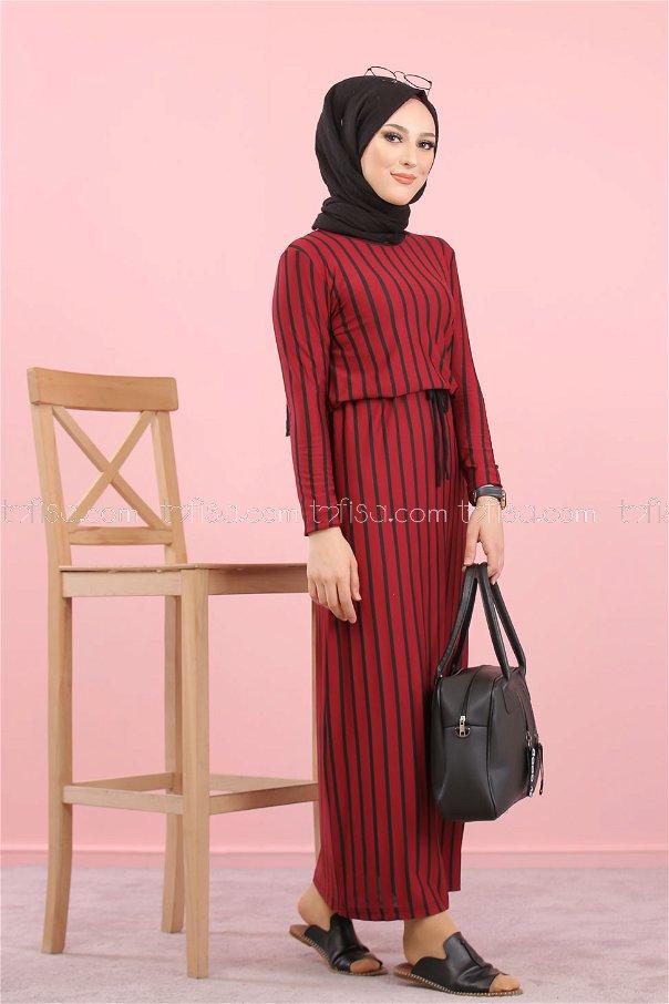 Dress Claret Red - 5254