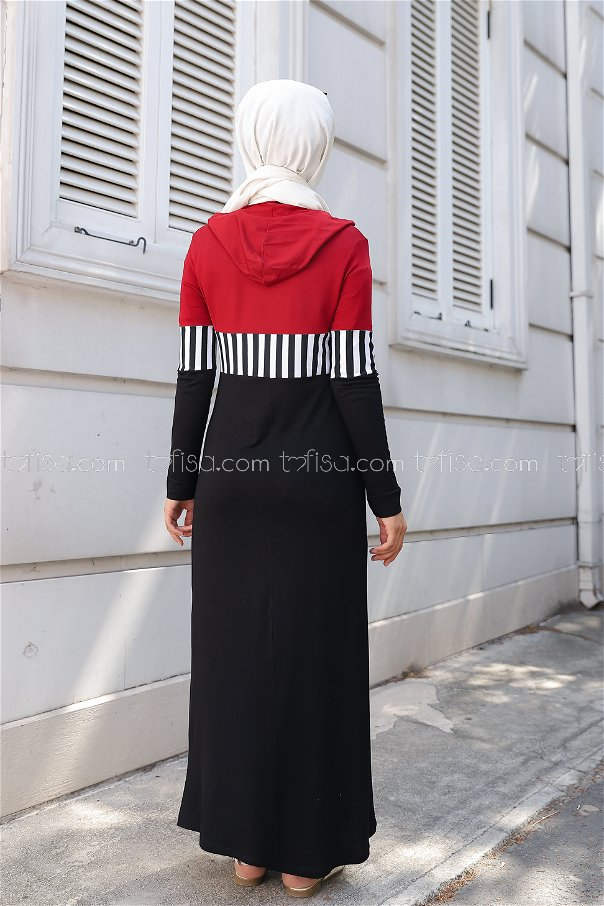Dress Claret Red - 5260