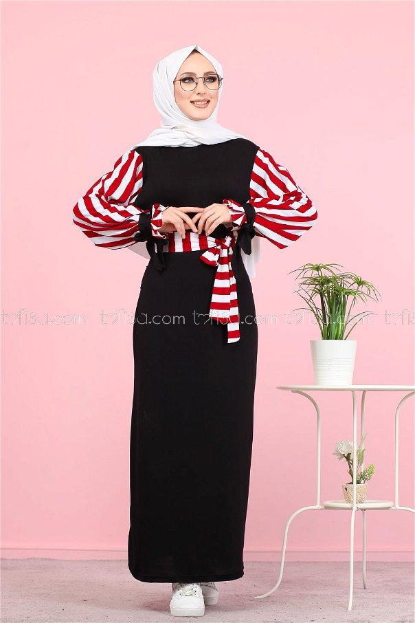 Dress Claret Red - 5261