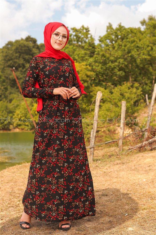 Dress Crepe Black - 8487