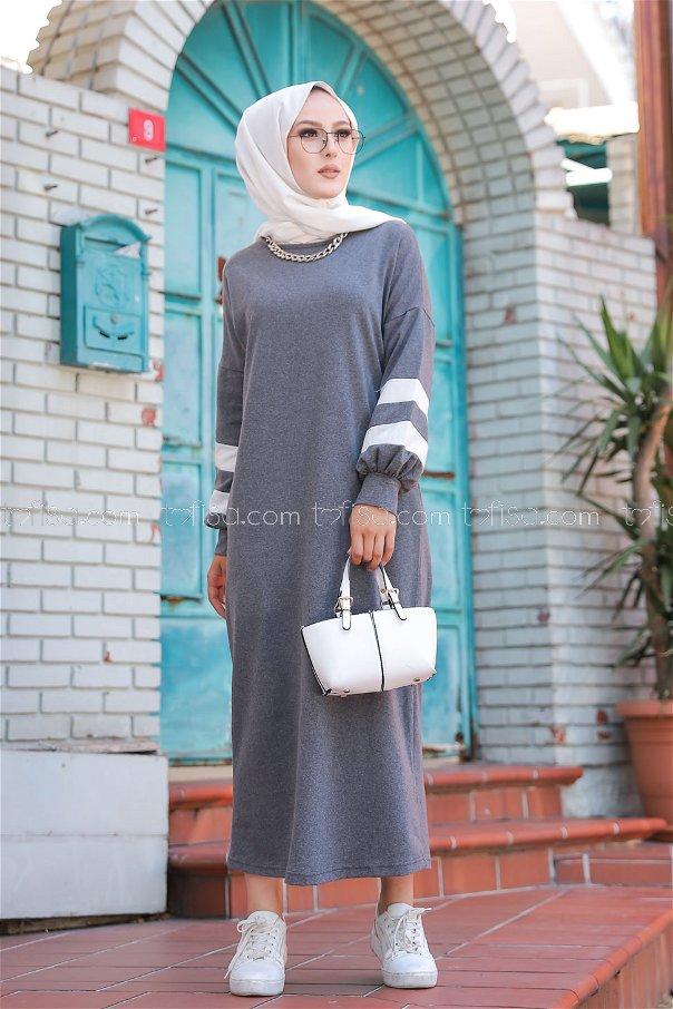 Dress Dark Gray - 4134
