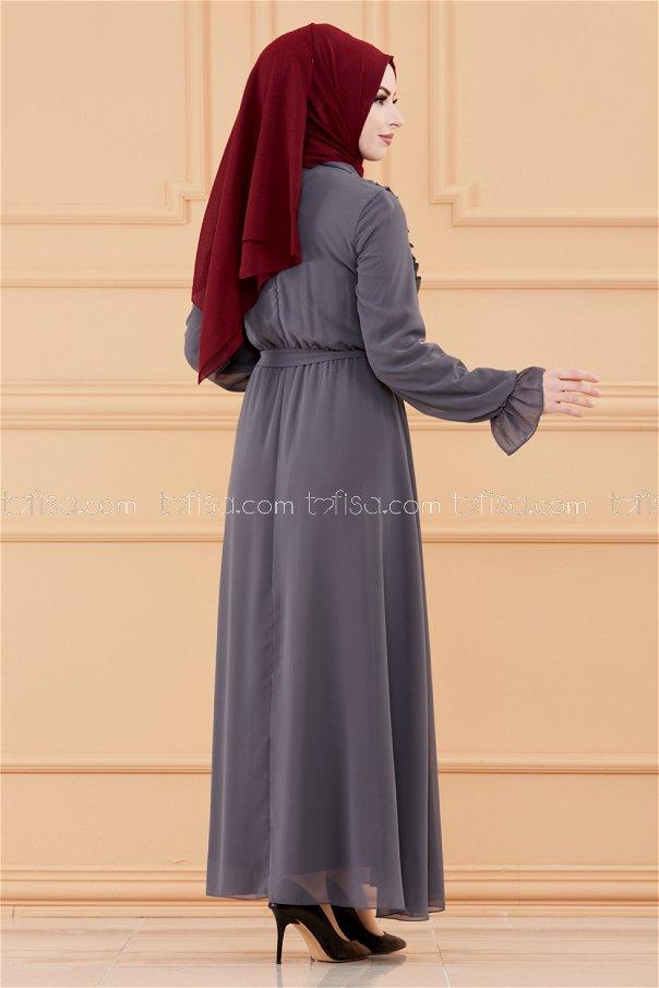 Dress DARK GREY - 20103