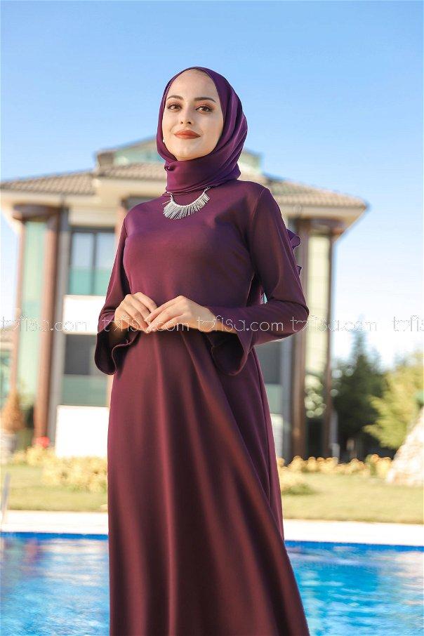 Dress Dark Purple - 1363