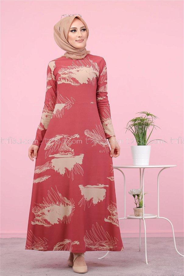Dress Floral Rose - 3068