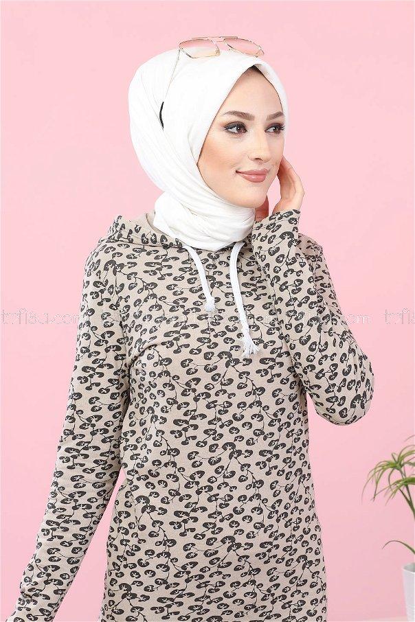 Dress Flower Pattern Stone - 8513