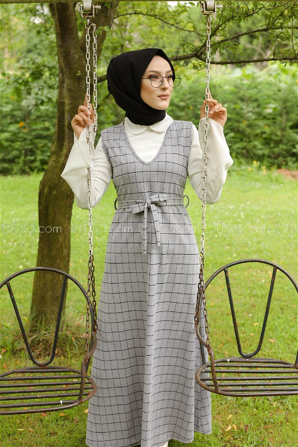 Dress Grey Black - 3230