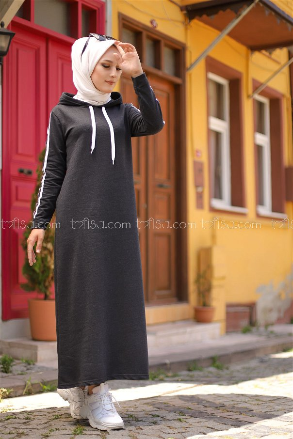 Dress Hooded Anthracite - 3227