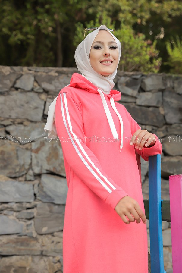 Dress Hooded Coral - 3227