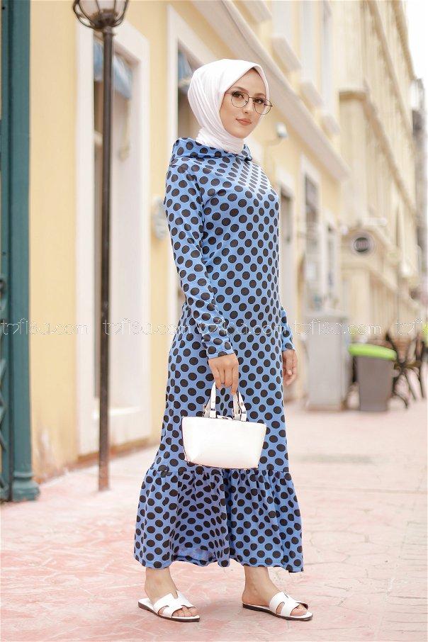 Dress Hooded Flywheel Blue- 3100