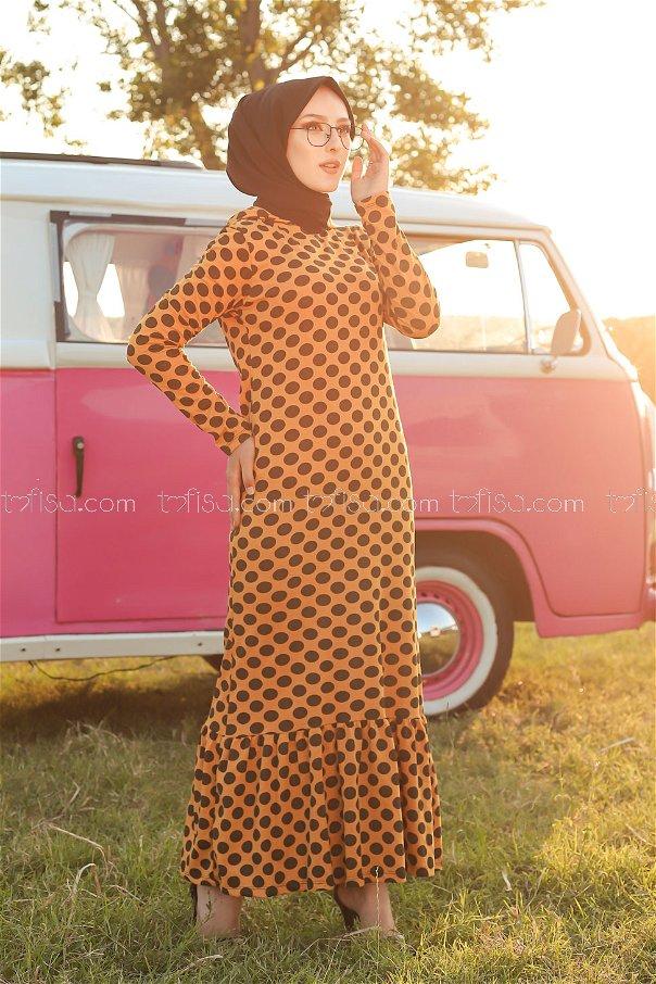 Dress Hooded Flywheel Mustard - 3100