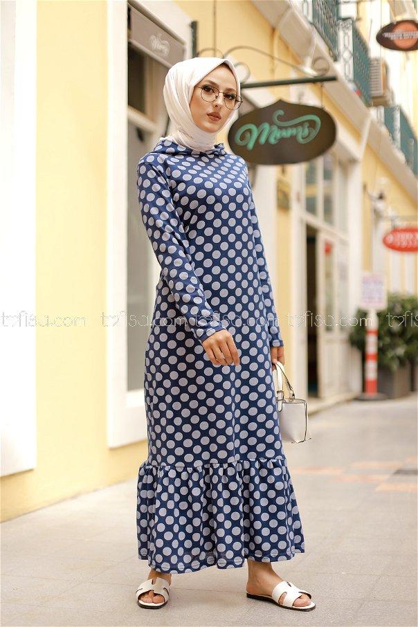 Dress Hooded Flywheel Navy Blue - 3100