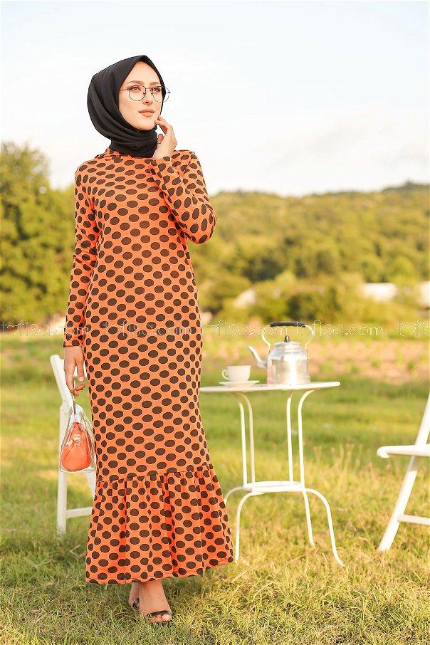 Dress Hooded Flywheel Oranj- 3100