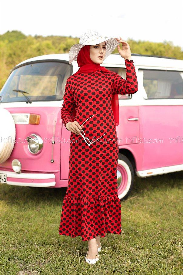 Dress Hooded Flywheel Red - 3100