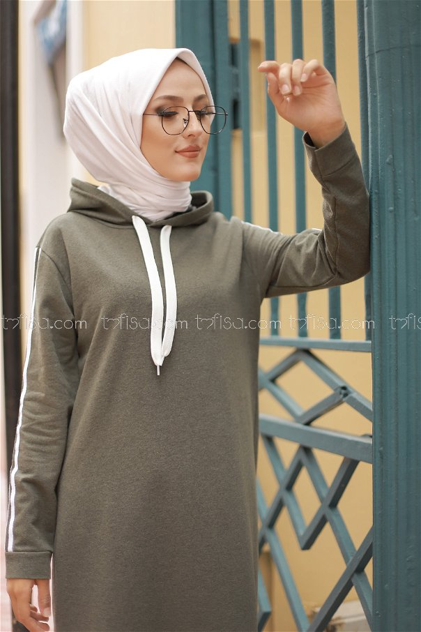 Dress Hooded Khaki - 3227