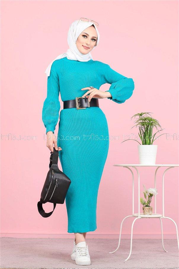 Dress Knitwear Balloon Arm minter - 8278