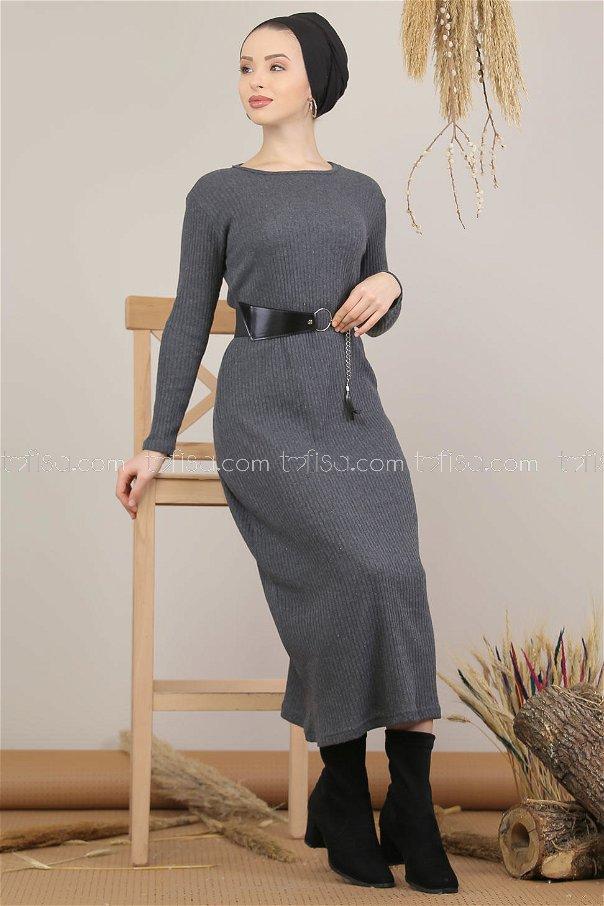 Dress Knitwear gray - 5185