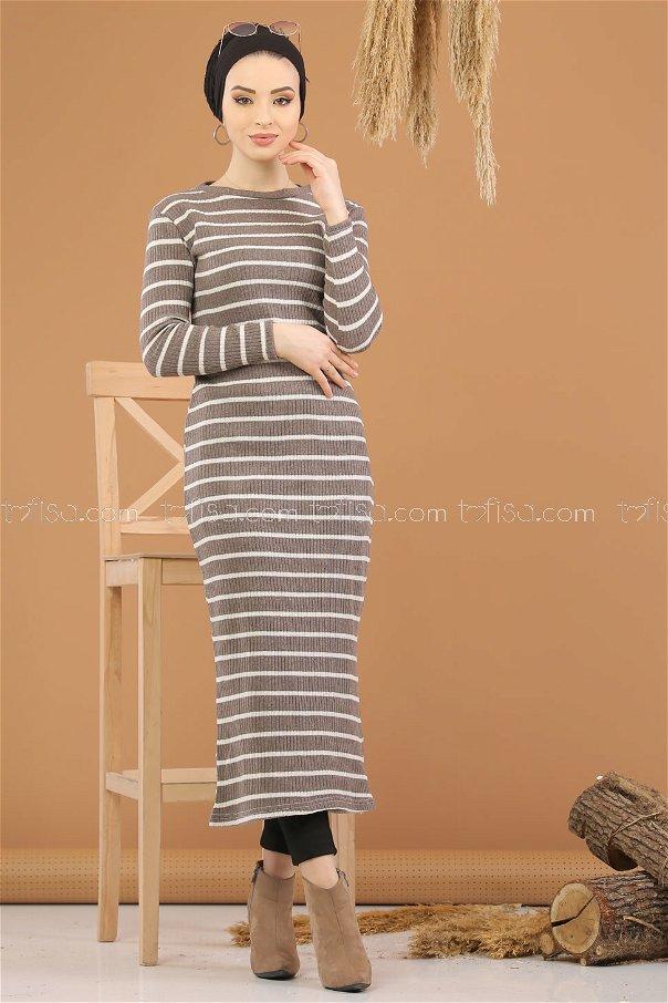 Dress Knitwear Light brouwn - 8261