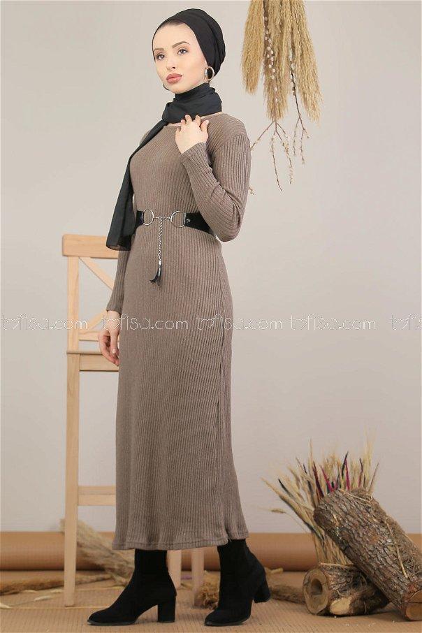 Dress Knitwear mink - 5185