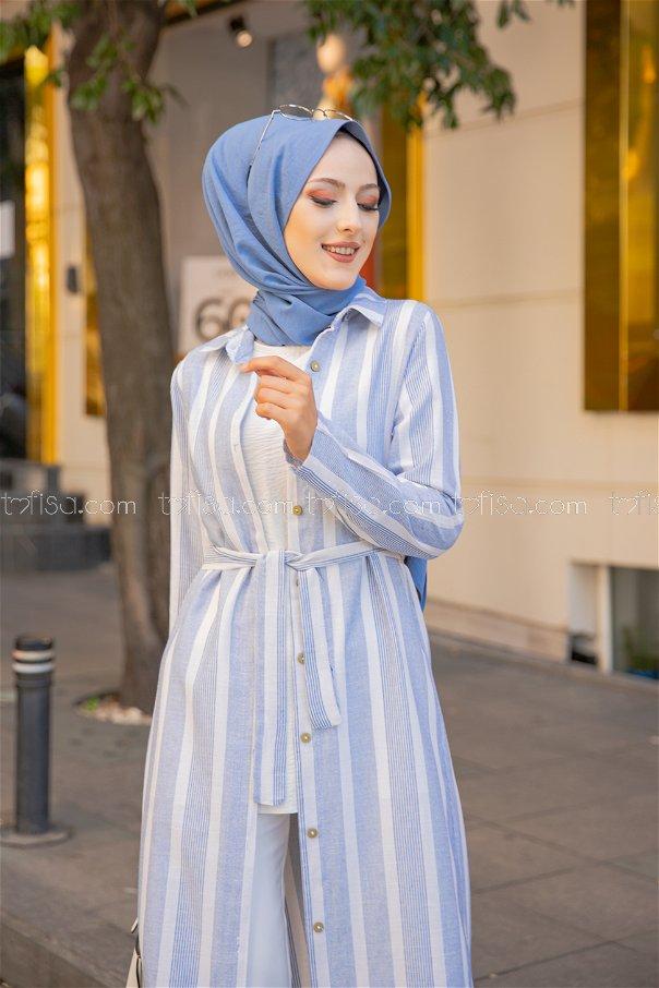 Dress Light Blue - 9057