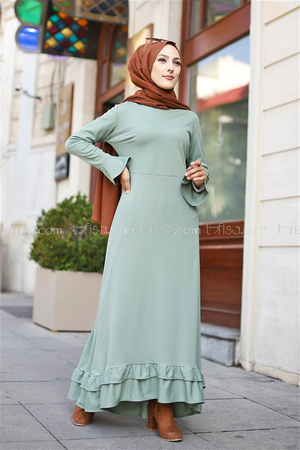 Dress Light Green - 1363