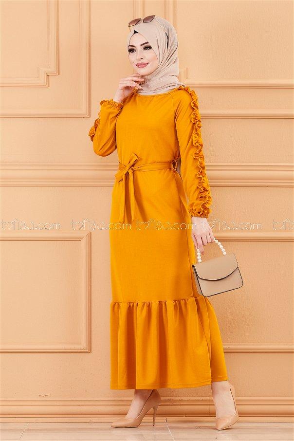 Dress MUSTARD - 3639