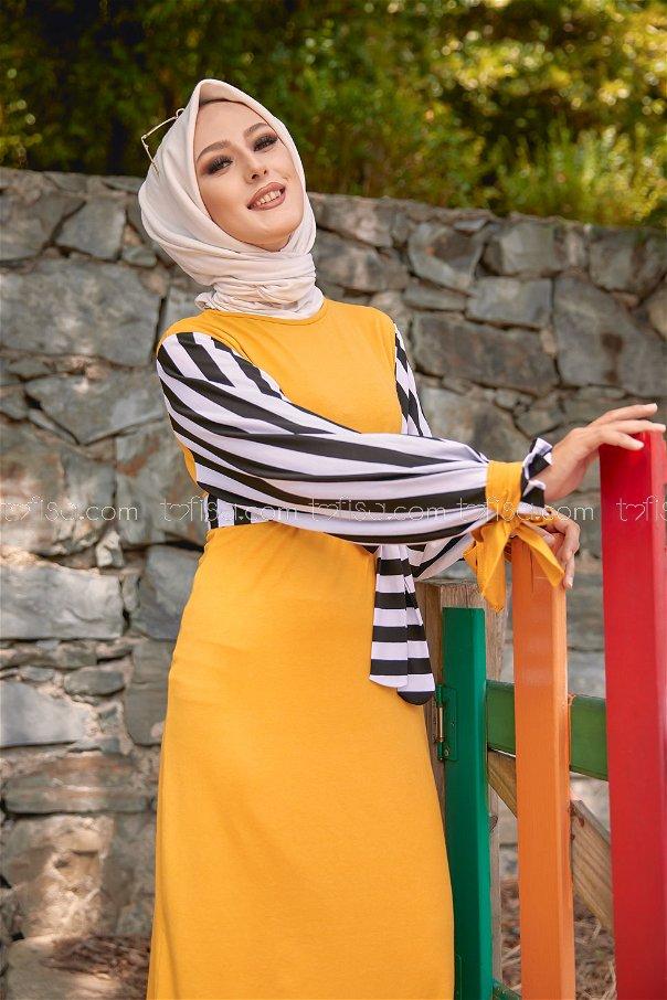 Dress Mustard - 5266