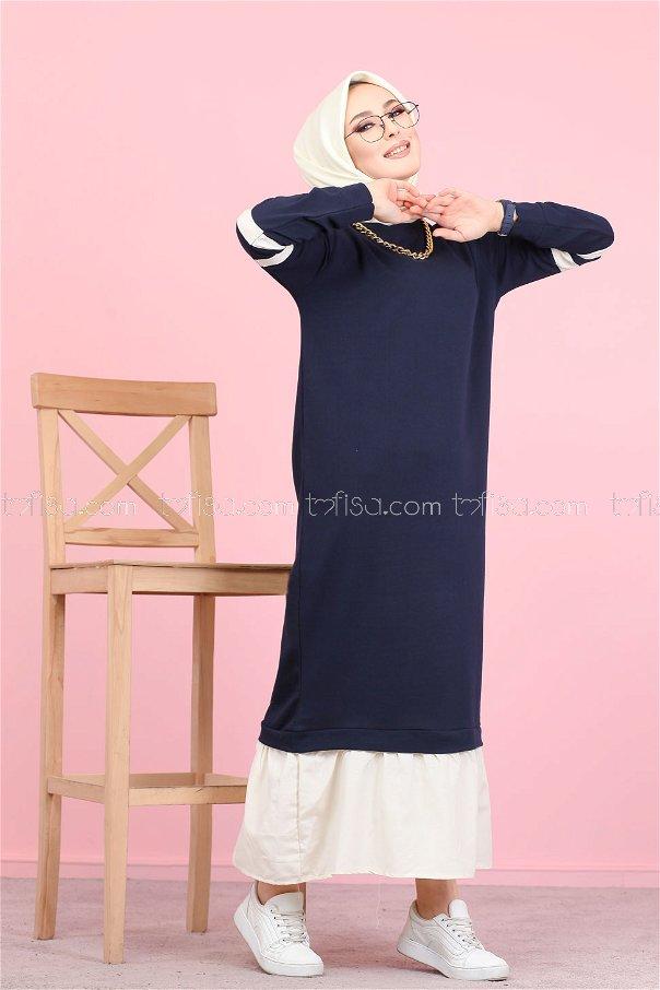 Dress Navy Blue - 3080