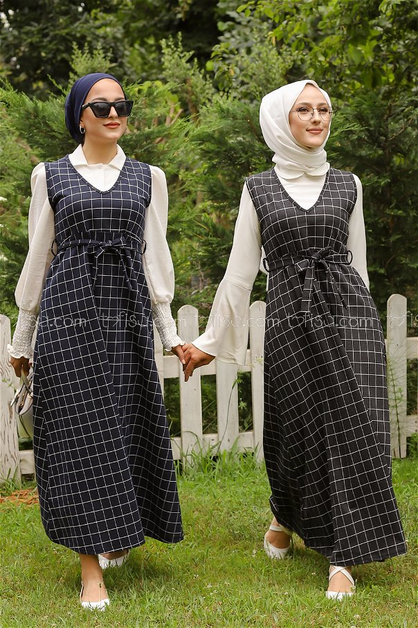 Dress Navy Blue - 3230