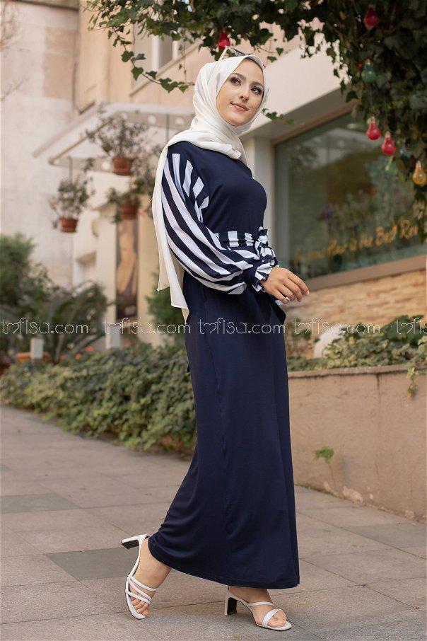 Dress Navy Blue - 5261