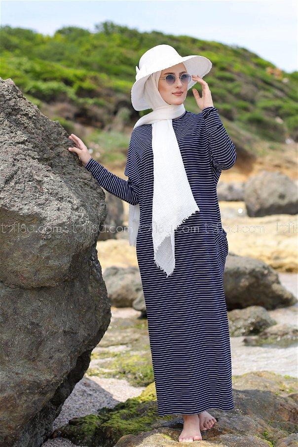 Dress Navy Blue - 5268