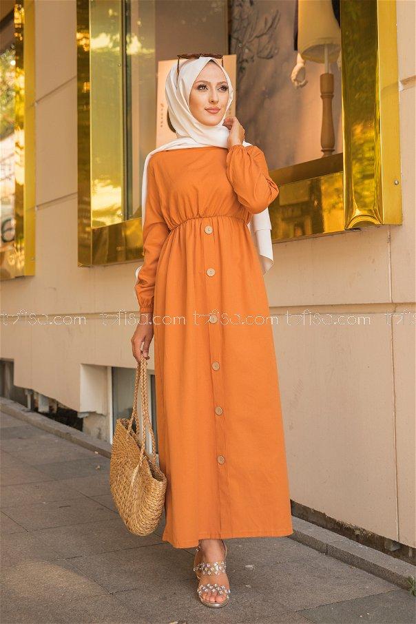 Dress Orange - 8369
