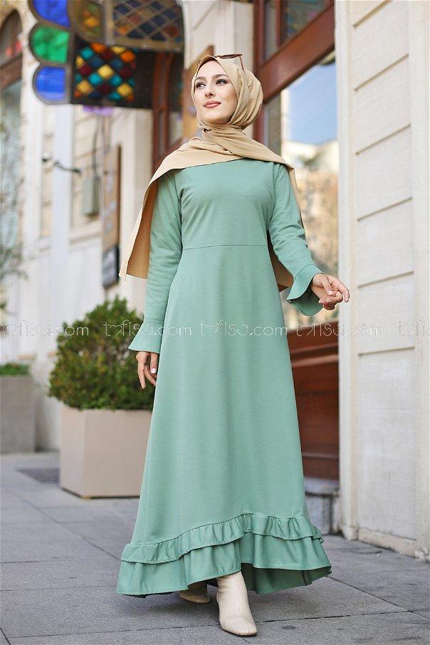 Dress Pistachio Green - 1363