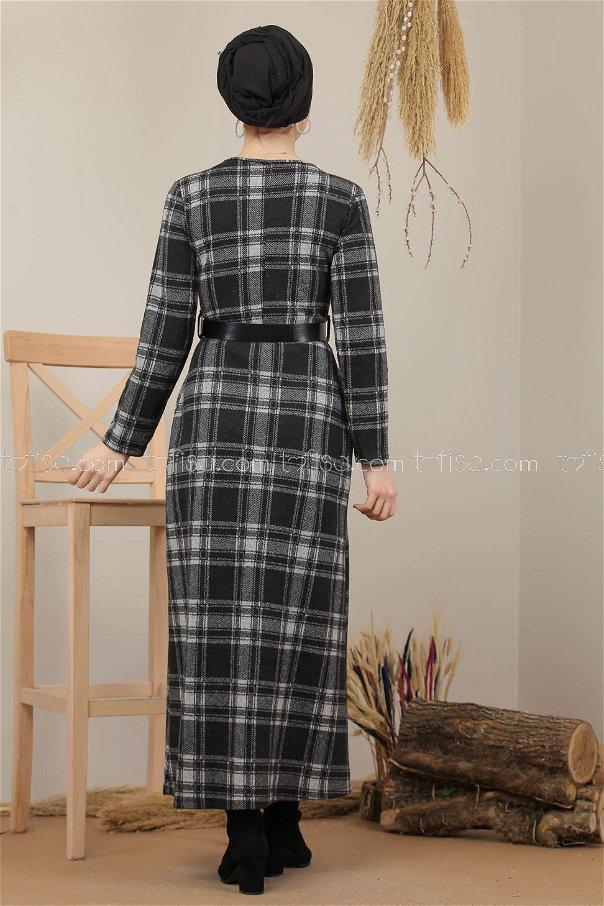 Dress Plaid gray - 5196