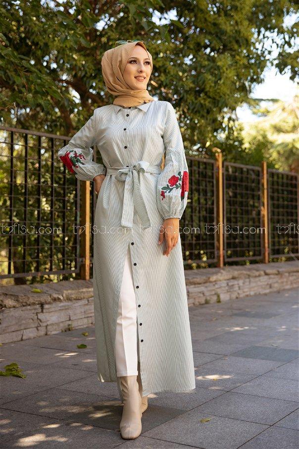 Dress Printed Mint - 3017